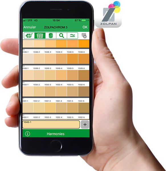 Application peinture iphone