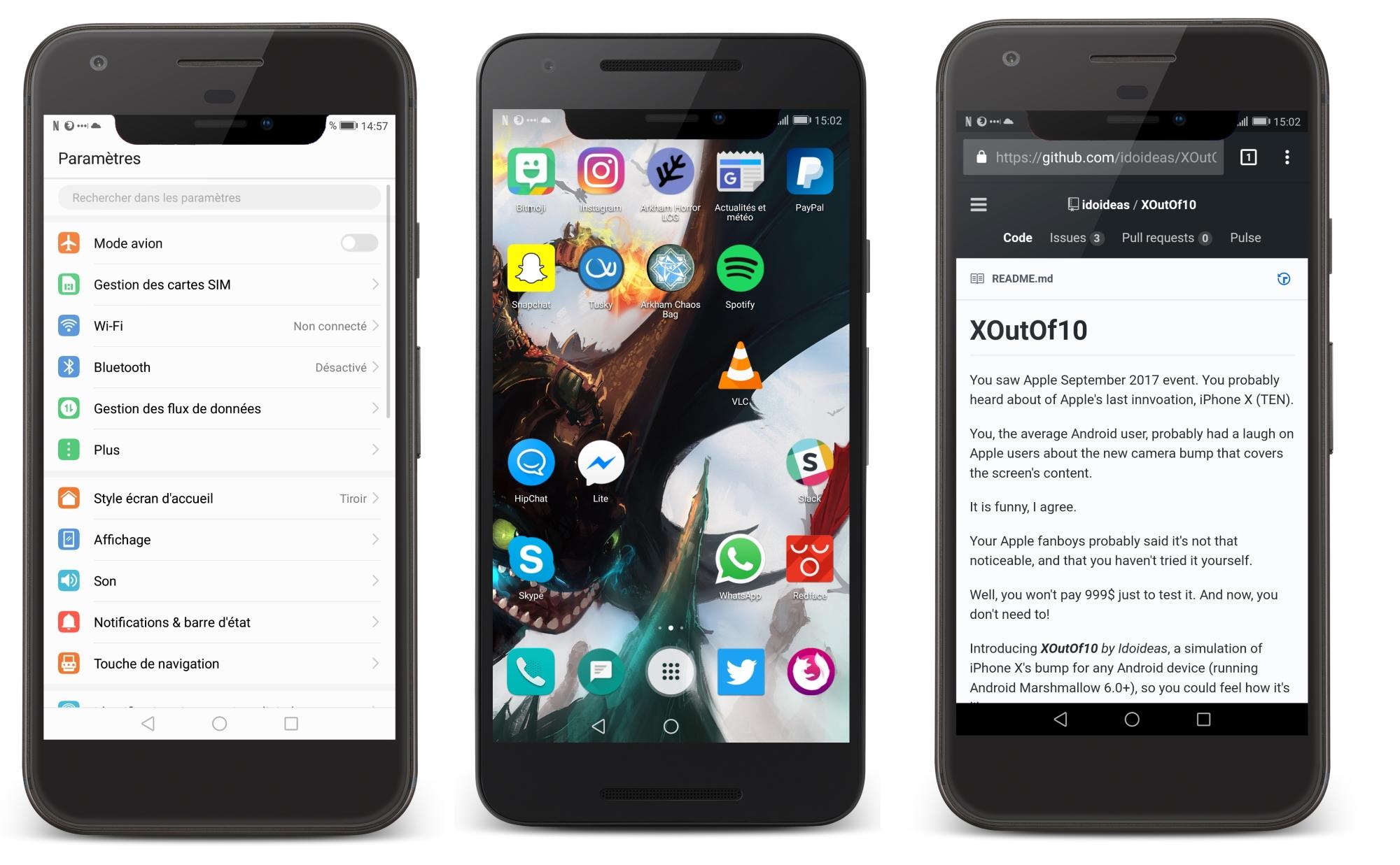 Application pour iphone 3