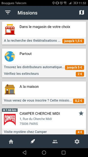 Application iphone gagner de l argent