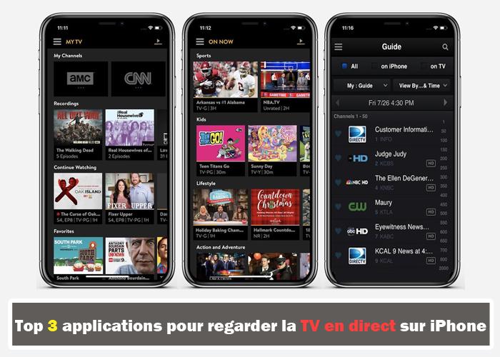 Application pour regarder des series gratuitement sur iphone
