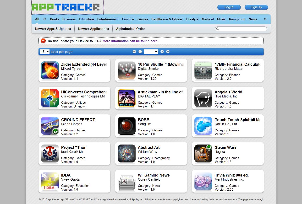 Application musique iphone 3gs