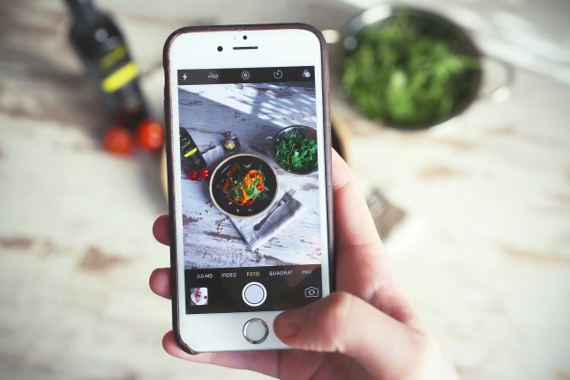 Application iphone alimentation