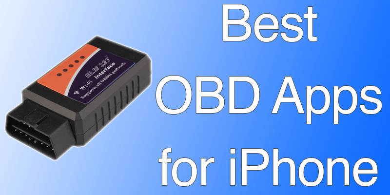 Application iphone pour obd2 bluetooth