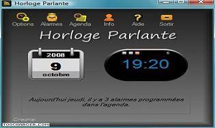 Application horloge parlante iphone