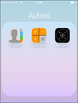 Application calculatrice iphone