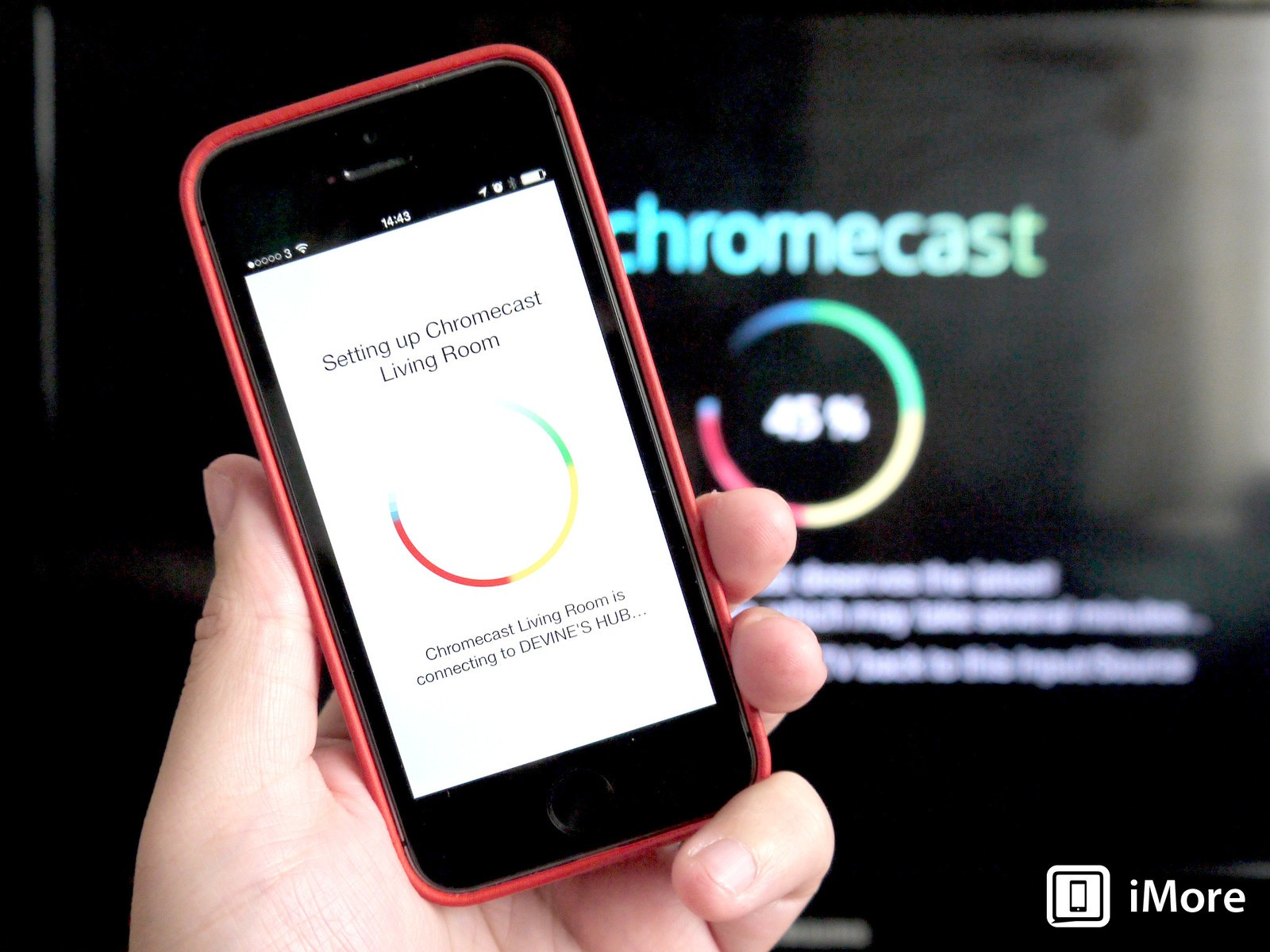 Application iphone chromecast