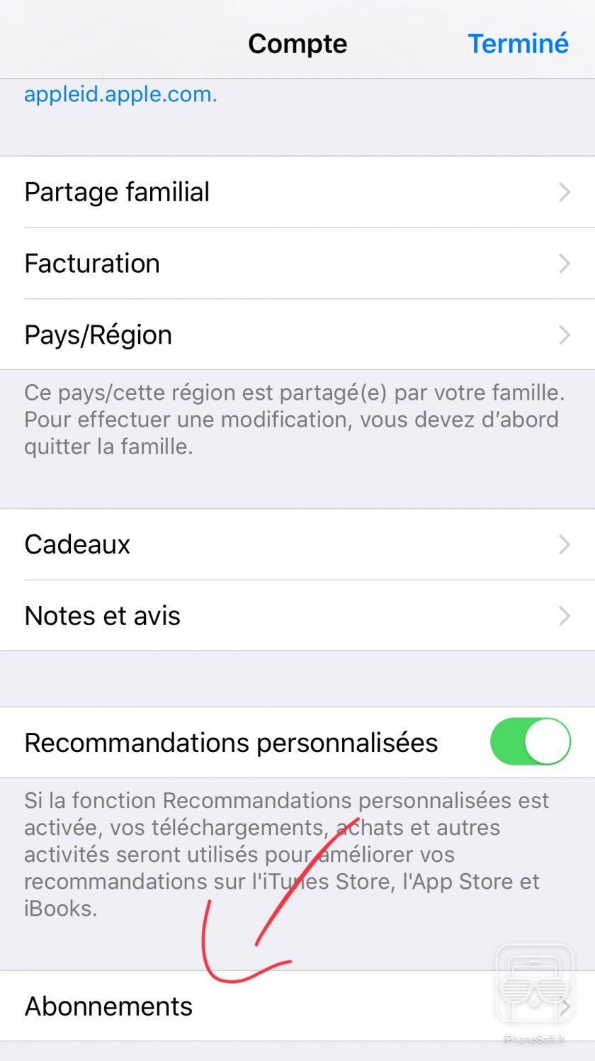 Arreter une application iphone