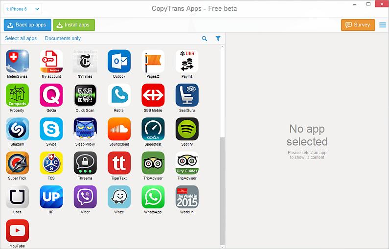 Installer des application sur iphone 4 sans itunes