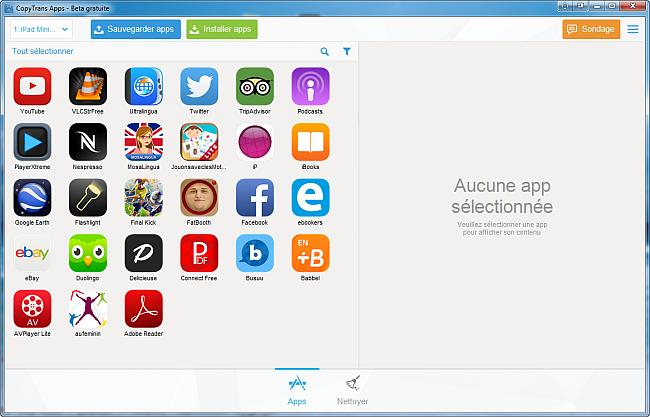 Installer application iphone gratuitement