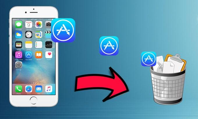 Comment supprimer une application bloquée sur iphone