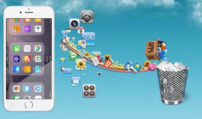 Desinstaller une application iphone 5