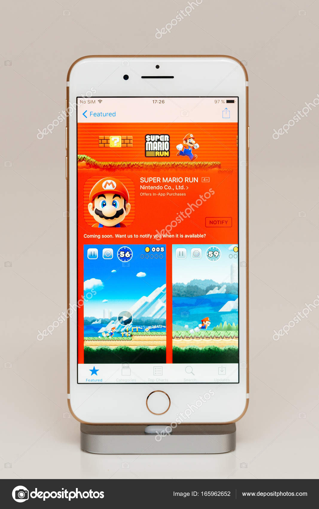 Application running iphone