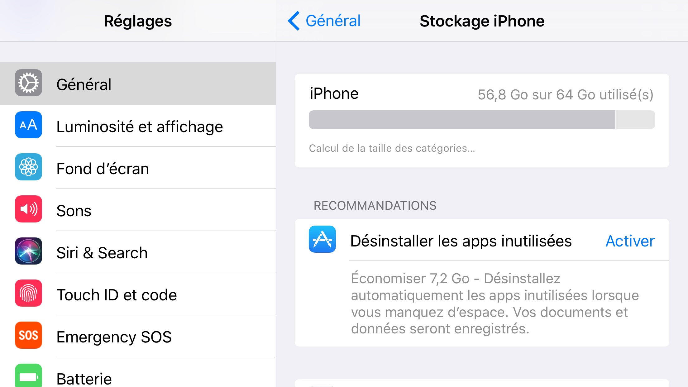 Impossible de supprimer application iphone