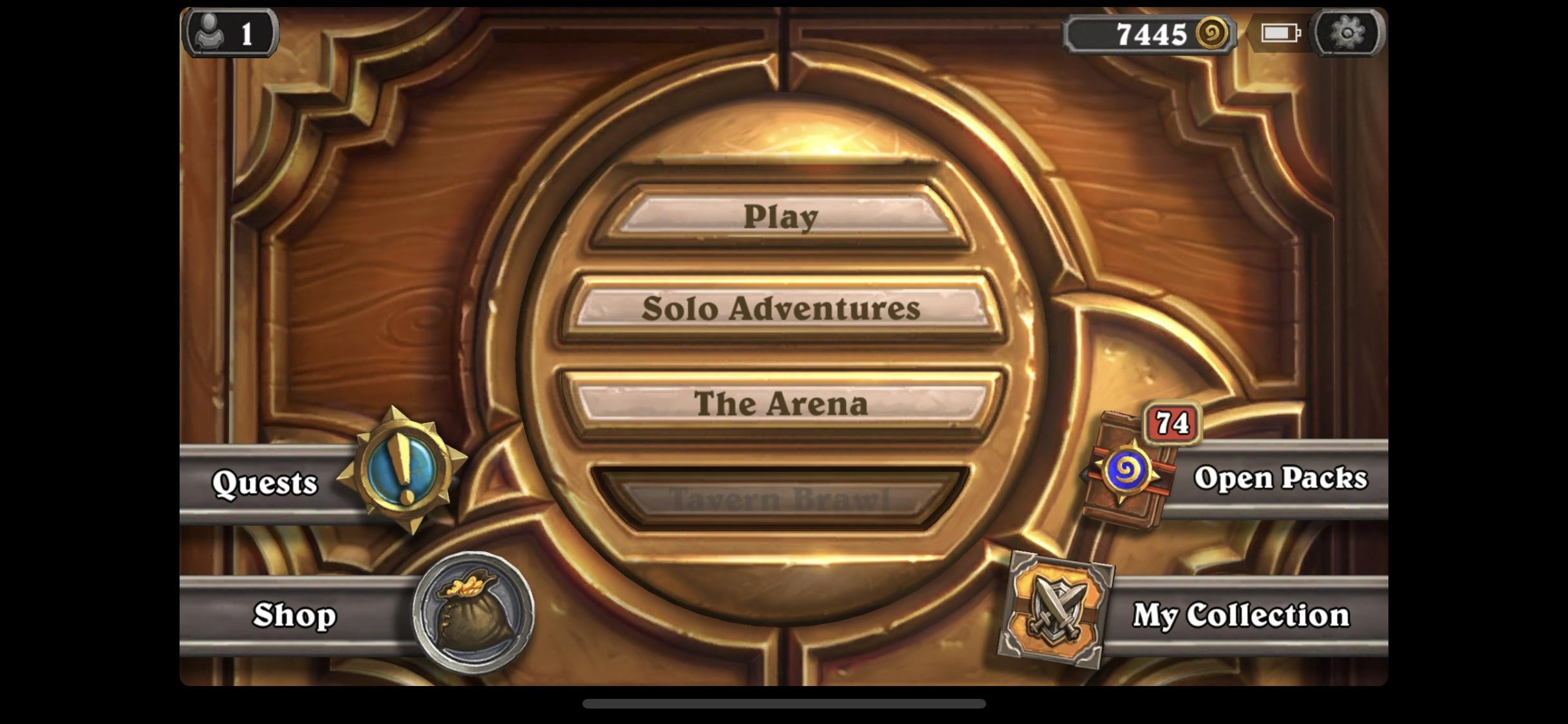 Hearthstone application iphone