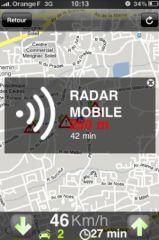 Application anti radar gratuit iphone
