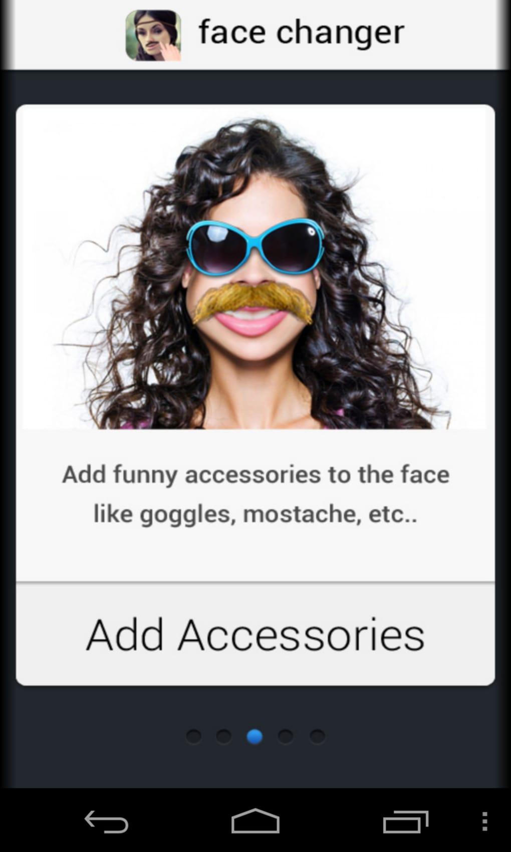 Application iphone qui change le visage