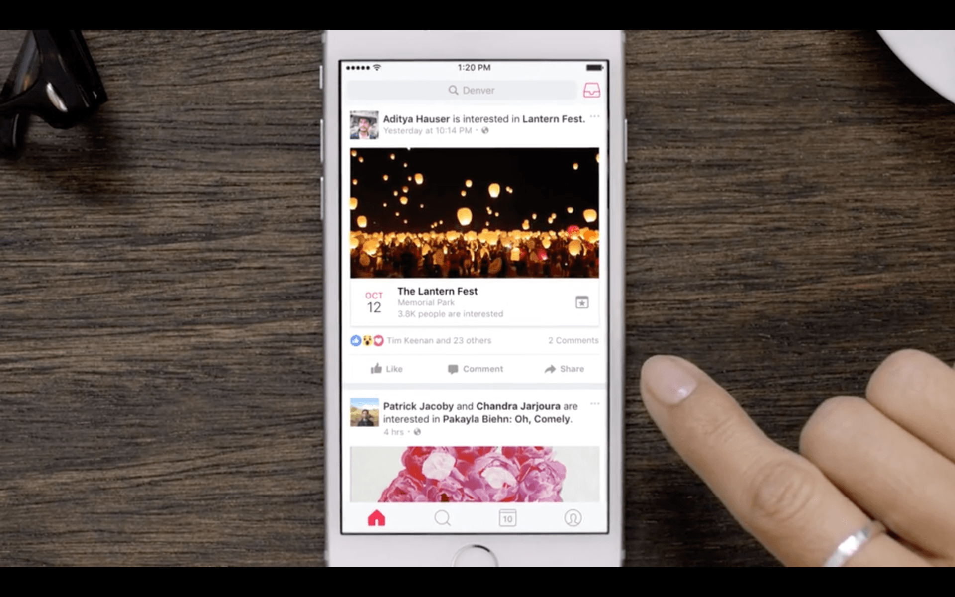 Retrouver une application iphone