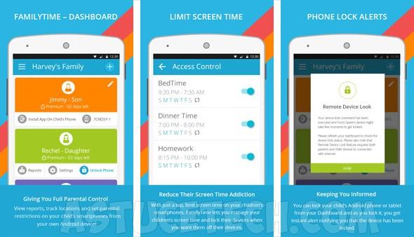 Application controle parental iphone gratuit