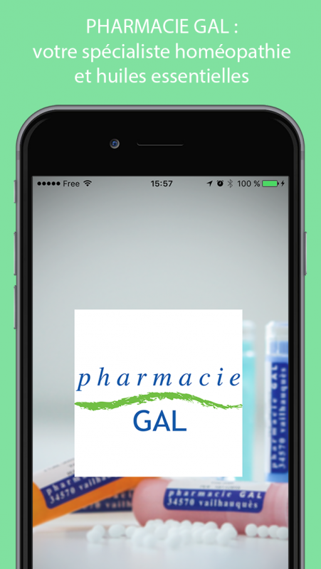 Application homeopathie iphone