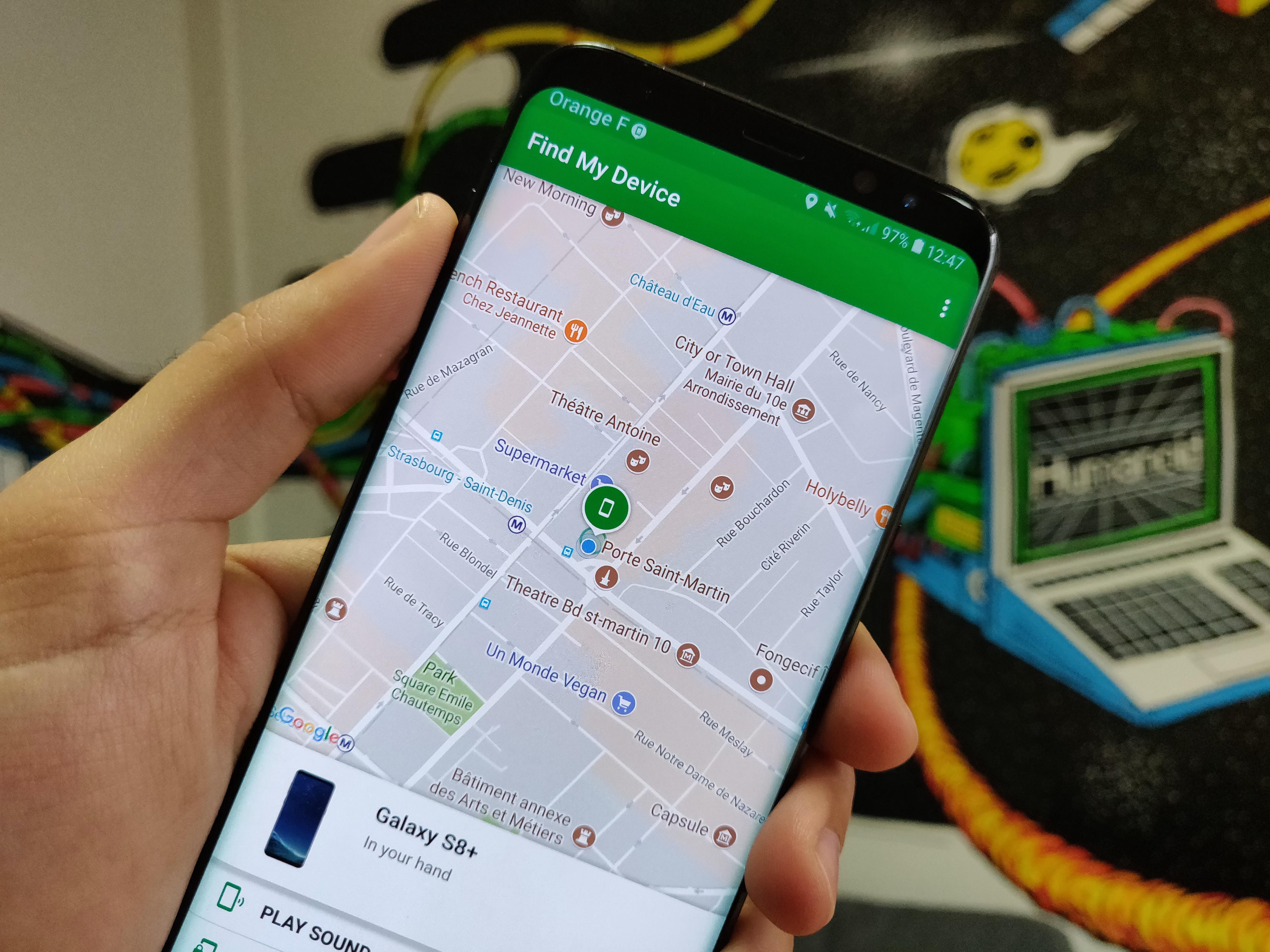 Application pour iphone pour localiser un portable