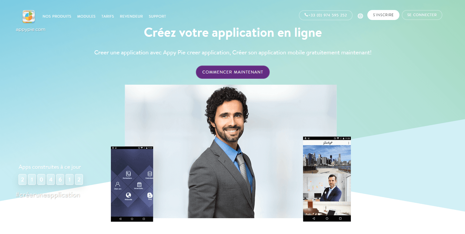 Faire une application android et iphone