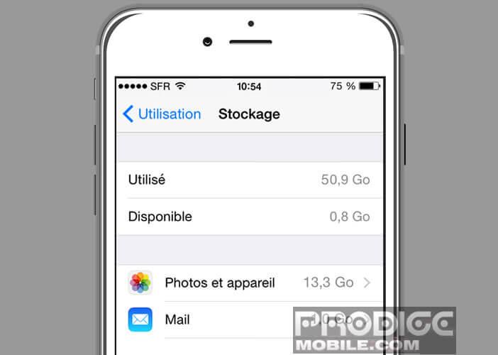 Application pour nettoyer iphone gratuit
