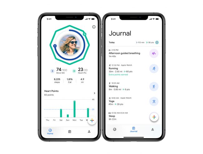 Application iphone marche rapide