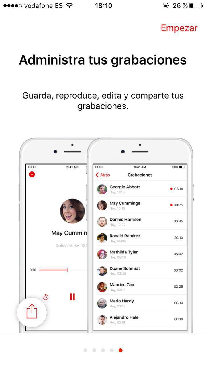 Application pour enregistrer conversation iphone gratuit