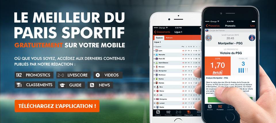 Paris application iphone
