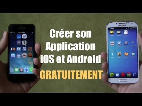Création d application iphone gratuite