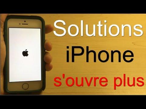 Application iphone ne s'ouvre pas