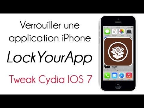 Verrouiller application iphone cydia