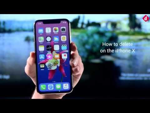 Désinstaller application iphone x