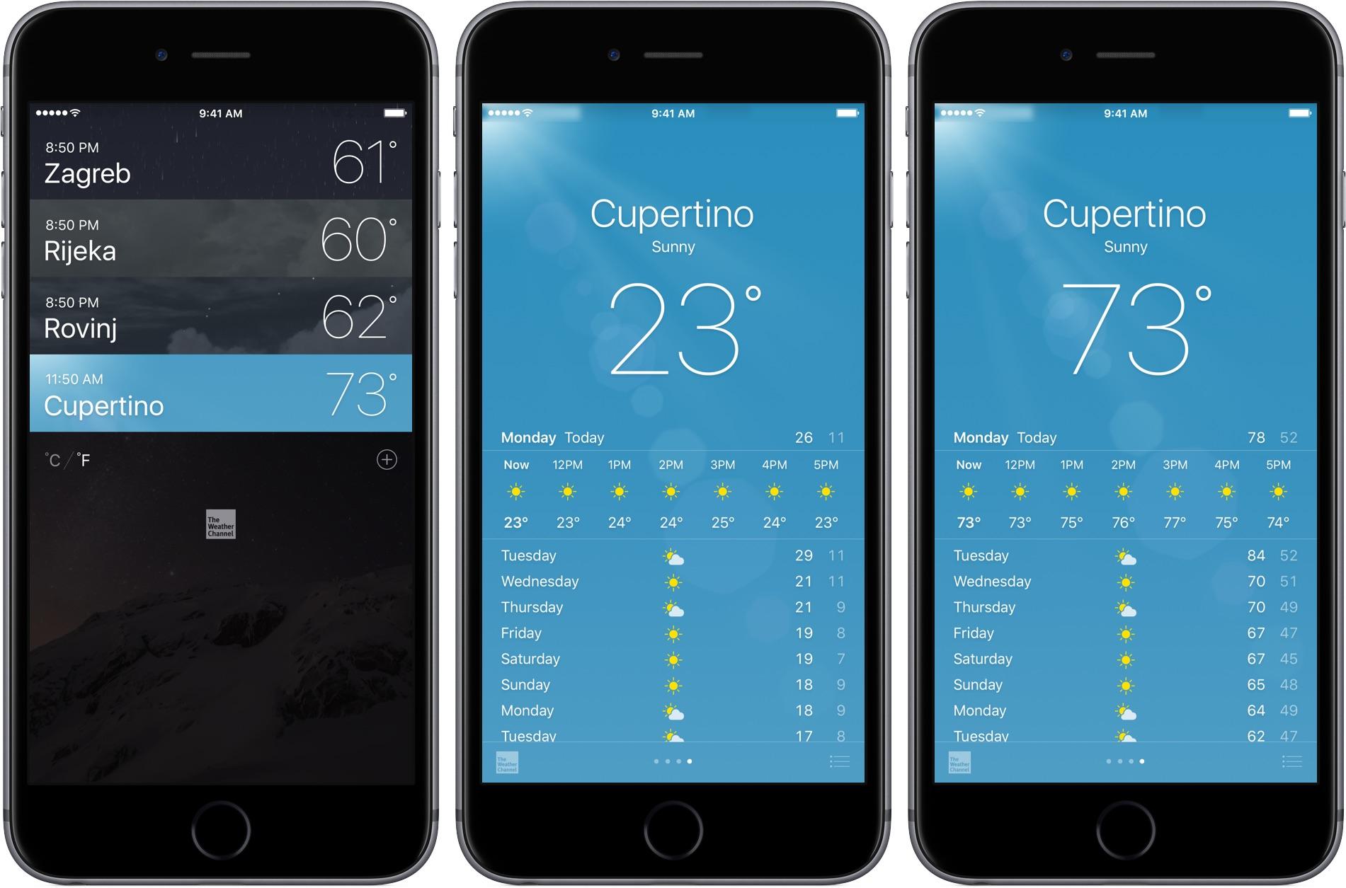 Application iphone radar fixe et mobile