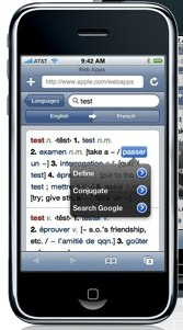 Site application iphone