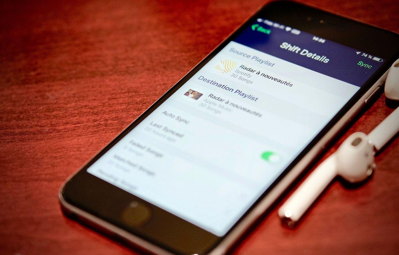 Application aveugle iphone