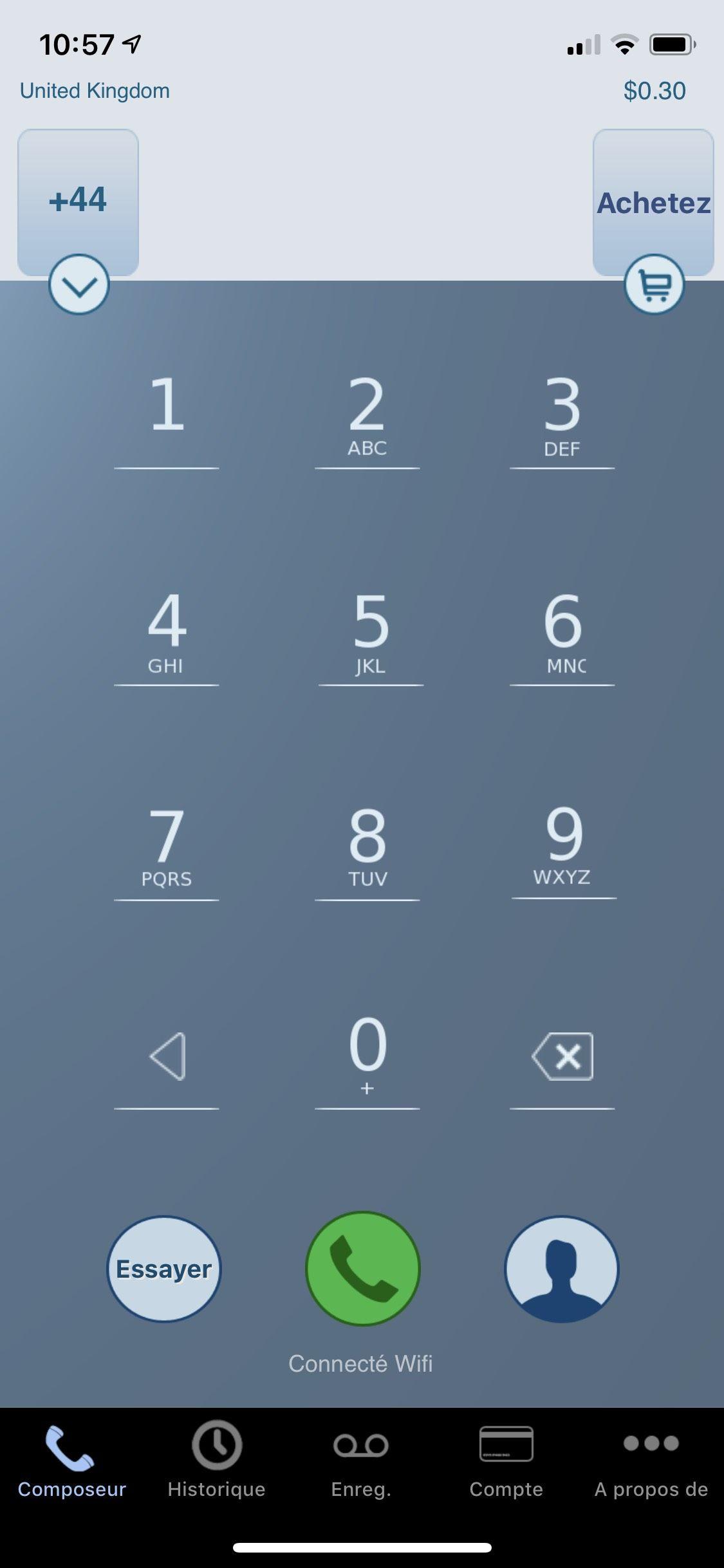Application iphone pour enregistrer une conversation