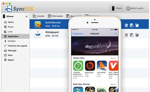 Telecharger application pour iphone sans itunes