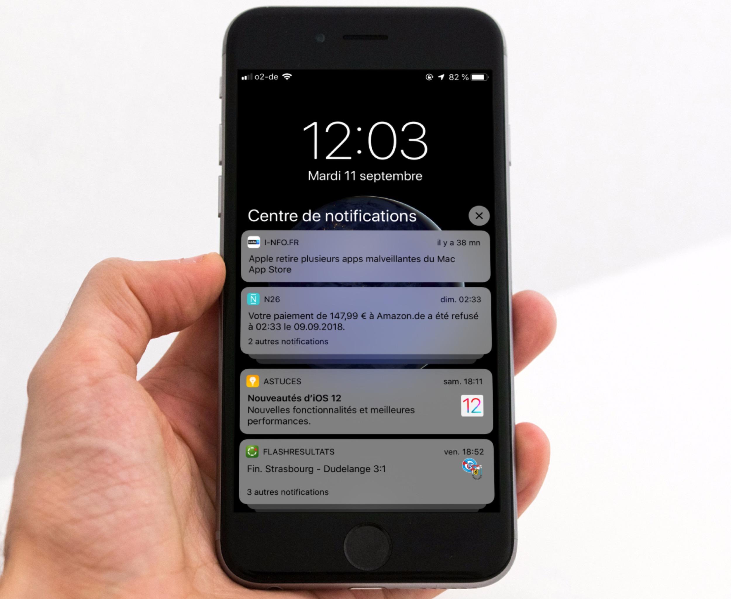 Astuces application iphone