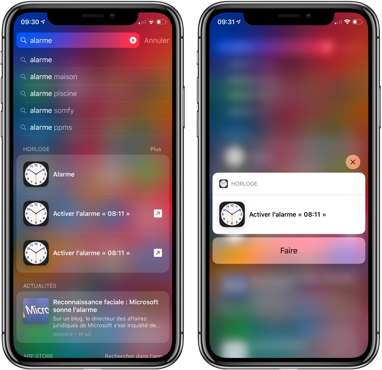 Application aprr iphone