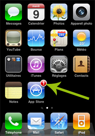 Comment rendre une application invisible iphone