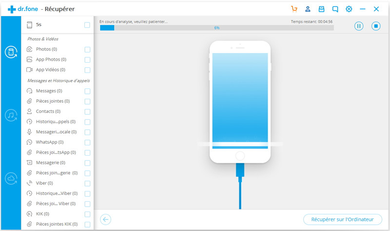 Application recuperer photo iphone