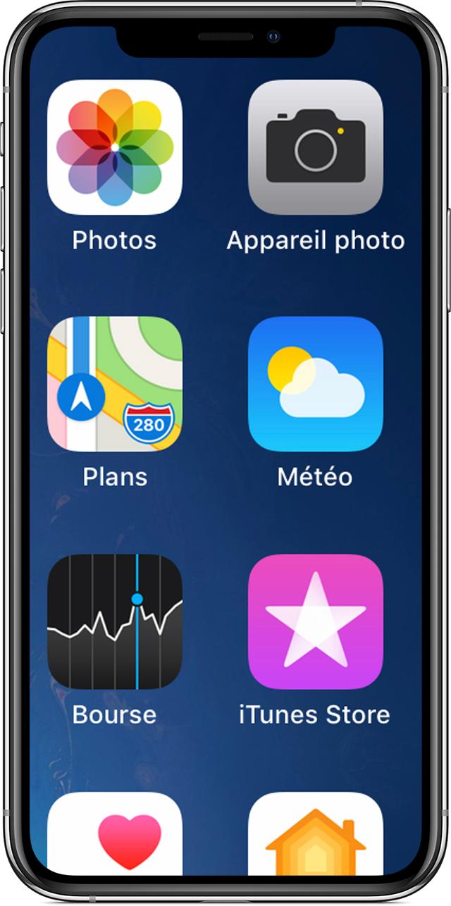 Probleme application musique iphone