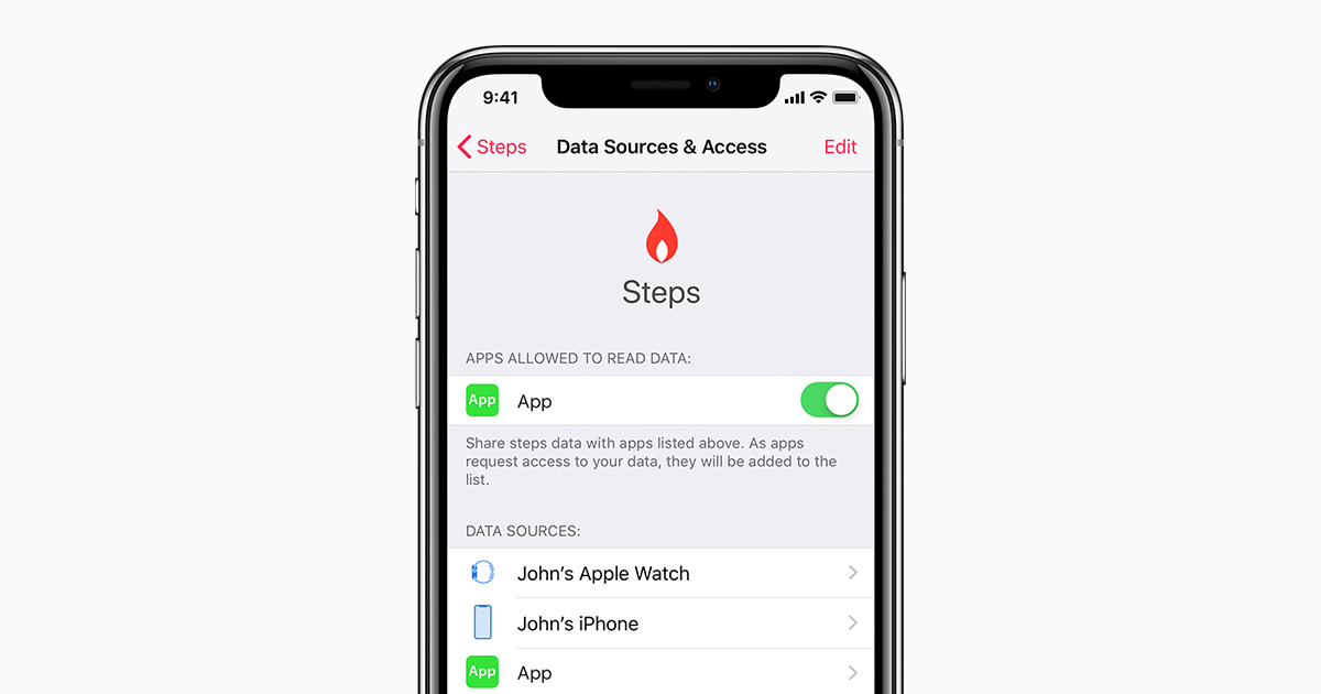 Application nombre de pas iphone