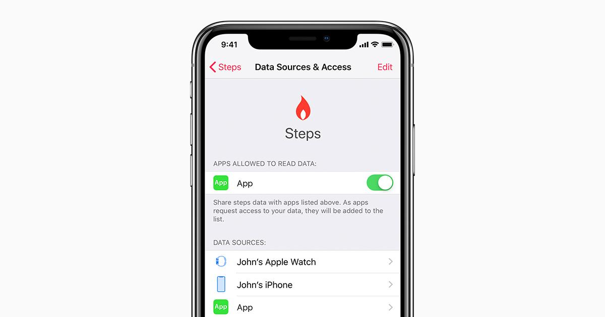 Application santé iphone 5