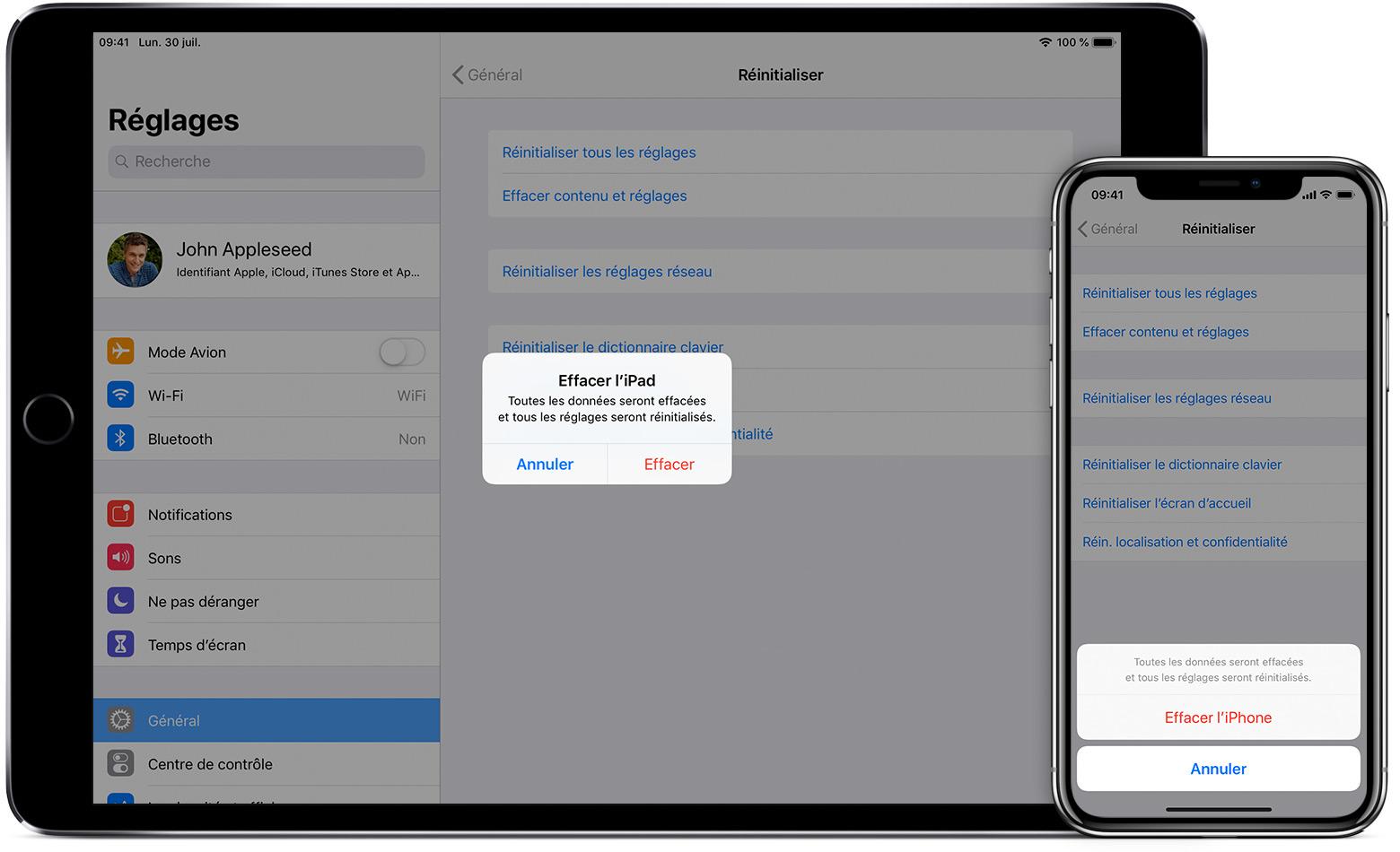 Comment remettre une application supprimée sur iphone