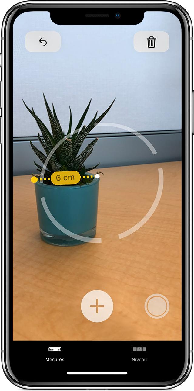 Application niveau iphone