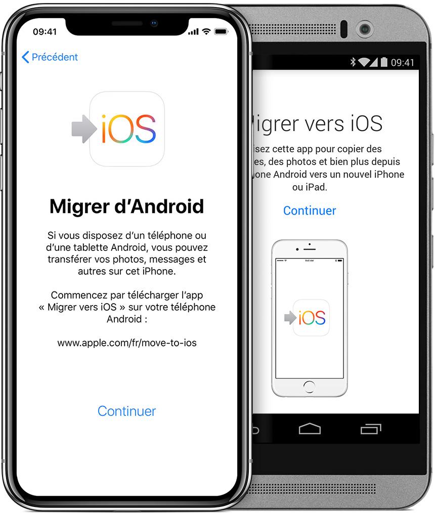 Application pour transferer des fichiers sur iphone