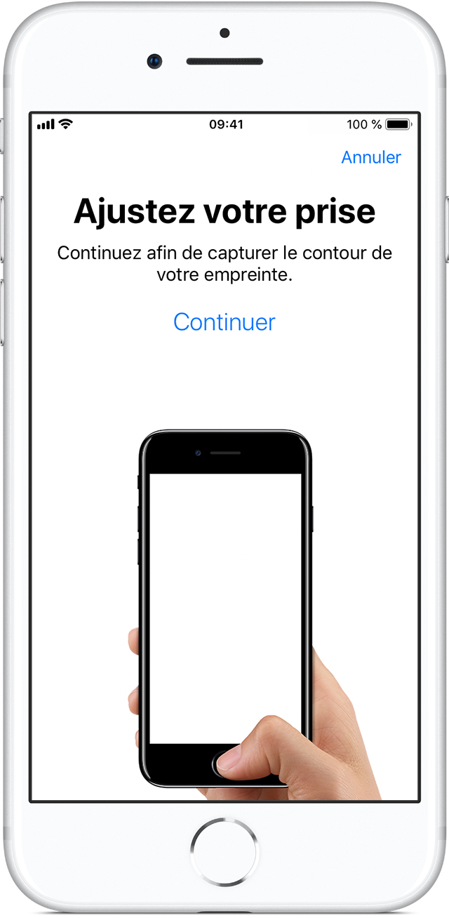 Application verrouillage iphone empreinte digitale