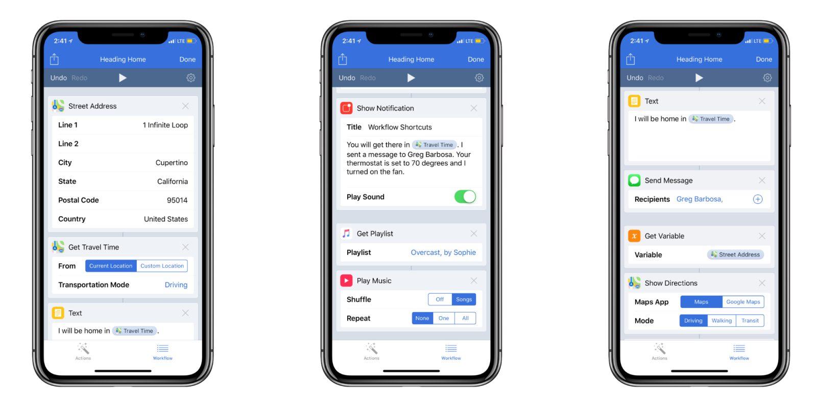 Application iphone siri